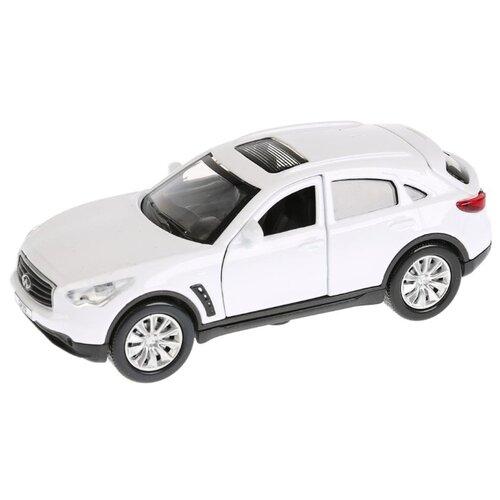 Купить Легковой автомобиль ТЕХНОПАРК Infiniti QX70 12 см белый, Машинки и техника