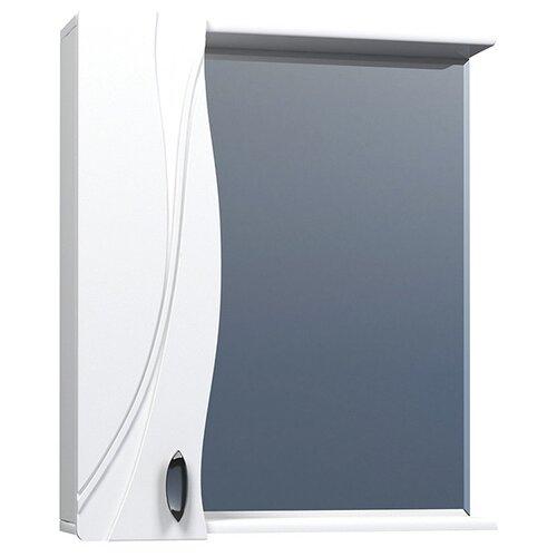 Шкаф для ванной Mixline Лима-65 левый, (ШхГхВ): 65х15х70 см, белый