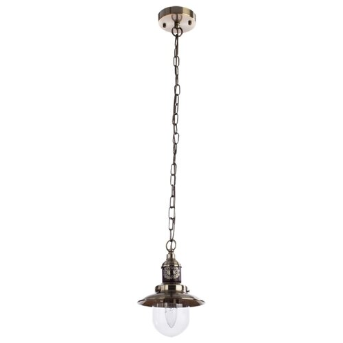 Светильник Arte Lamp Sailor bronze A4524SP-1AB, E14, 60 Вт светильник arte lamp a5530sp 1ab fisherman bronze