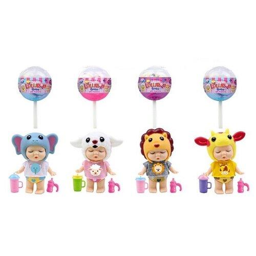 Пупс Junfa toys в конфетке LolliPop Baby, 8 см, A375C пупс junfa toys baby so lovely 1911 3