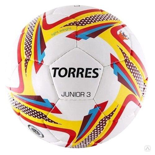 Футбольный мяч TORRES Junior белый/красный/желтый 3