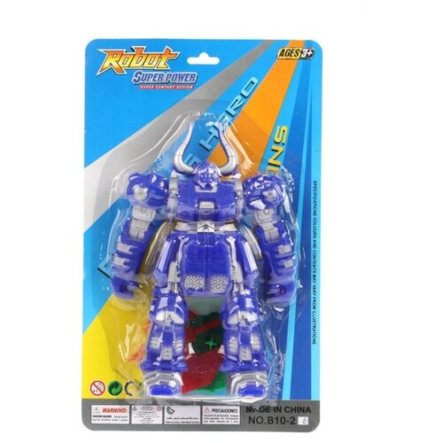 Фигурка Наша Игрушка Робот (B10-26) фигурка наша игрушка динозавр 66005