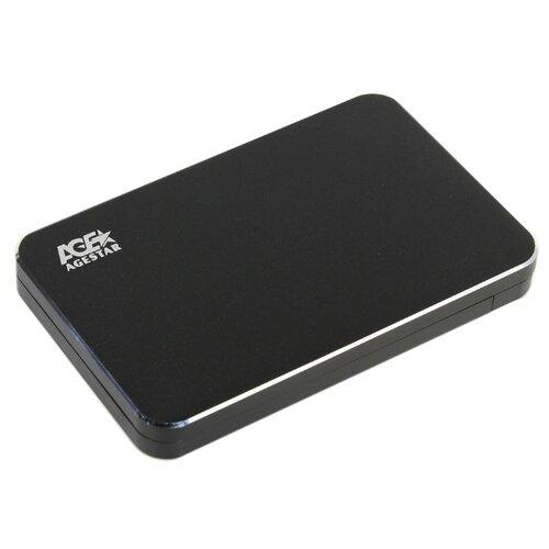 Корпус для HDD/SSD AGESTAR 3UB2A18C черный
