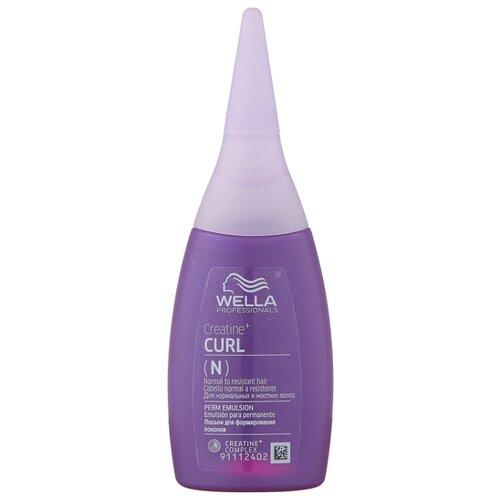 Wella Professionals CREATINE+ CURL лосьон для нормальных волос, от тонких до трудноподдающихся, 75 мл ducray неоптид лосьон от выпадения волос для мужчин 100 мл