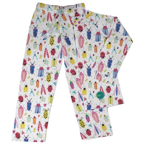 Пижама Marengo Textile размер 140, белый/синий/желтый платье oodji ultra цвет красный белый 14001071 13 46148 4512s размер xs 42 170