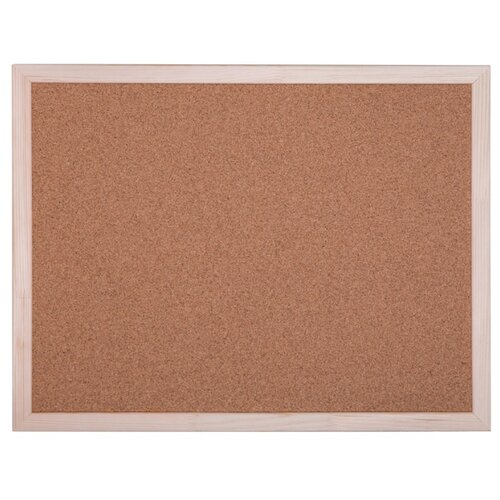 Купить Доска пробковая OfficeSpace KK_20419 (45х60 см) коричневый, Доски