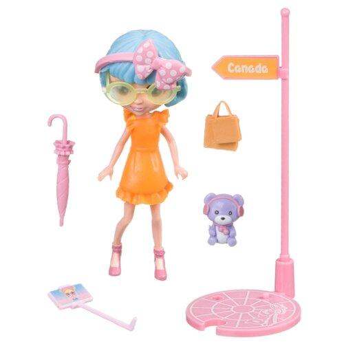 Купить Игровой набор Bondibon куколка OLY путешественница, 11.5 см, BB4311, Куклы и пупсы