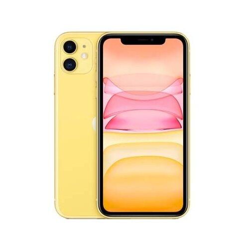 Смартфон Apple iPhone 11 64GB желтый (MWLW2RU/A) смартфон apple iphone xs 64gb gold mt9g2ru a