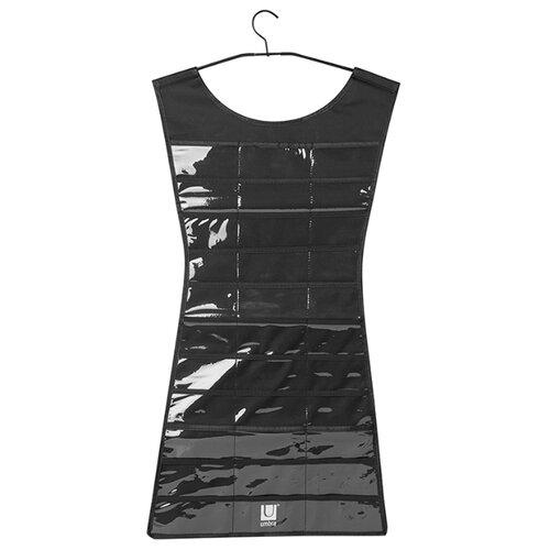 Органайзер для украшений Umbra Little dress, черный часы настенные umbra umbra mp002xu0e7o0