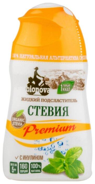 BIONOVA Подсластитель Стевия Premium с инулином жидкость