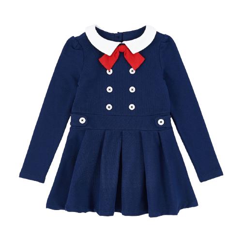 Платье Mini Maxi размер 116, синий, Платья и сарафаны  - купить со скидкой