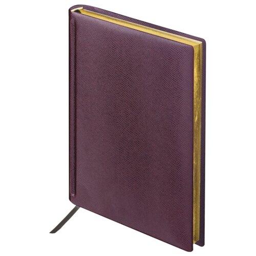 Купить Ежедневник BRAUBERG Iguana недатированный, искусственная кожа, А6, 160 листов, темно-коричневый, Ежедневники, записные книжки