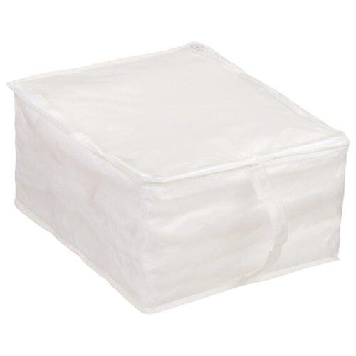 Handy Home Кофр для хранения белый 30 x 40 x 20 см белый