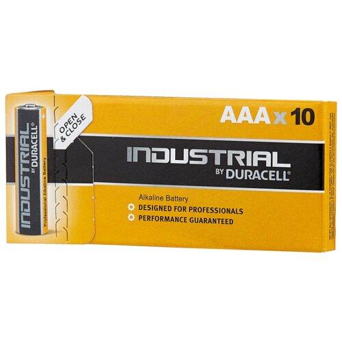 Фото - Батарейка Duracell Industrial AAA 10 шт картон набор стаканов 360 мл 6 шт rcr набор стаканов 360 мл 6 шт