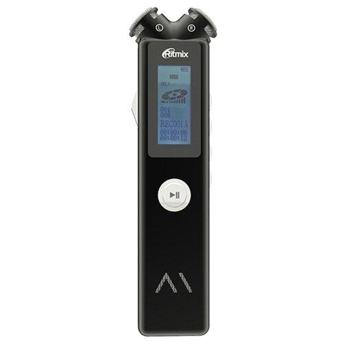 Диктофон Ritmix RR-145 4Gb черный диктофон ritmix rr 190 4 gb черный [15119709]