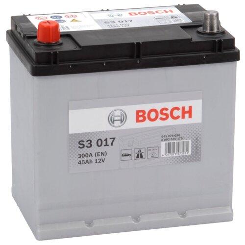 Автомобильный аккумулятор Bosch S3 017 (0 092 S30 170)