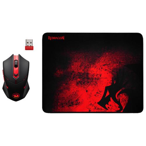 Беспроводная мышь Redragon M601WL-BA, черный/красный недорого