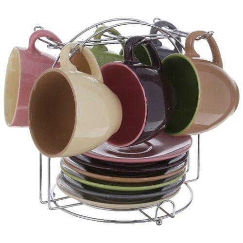 Чайный сервиз Loraine 27320 13 предметов разноцветный candino c4537 2