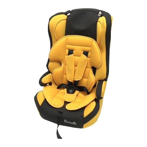 Автокресло группа 1/2/3 (9-36 кг) Carmella 513 RF, yellow/grey группа 1 2 3 от 9 до 36 кг carmella 513 rf и protectionbaby защитная накидка на спинку переднего сиденья автомобиля