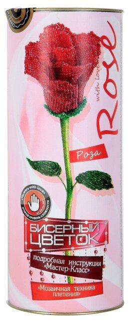 Danko Toys Набор для бисероплетения Бисерный цветок. Роза БЦ-01