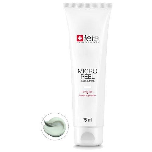 TETe Cosmeceutical Маска-эксфолиант Micro Peel с молочной и гликолевой кислотами и бамбуковой пудрой 75 мл
