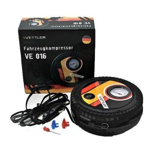 Компрессор подкачки шин Vettler VE 016 (18 л/мин., 7 АТМ.)