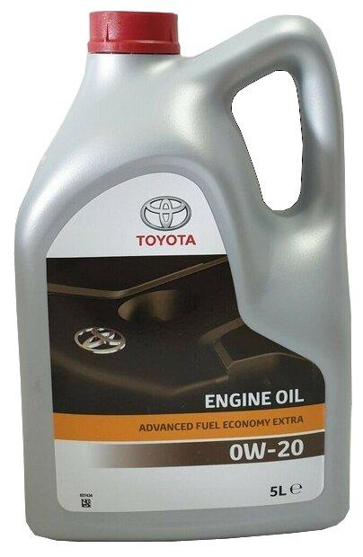 Моторное масло TOYOTA Advanced Fuel Economy Extra 0W-20 5 л — купить по выгодной цене на Яндекс.Маркете