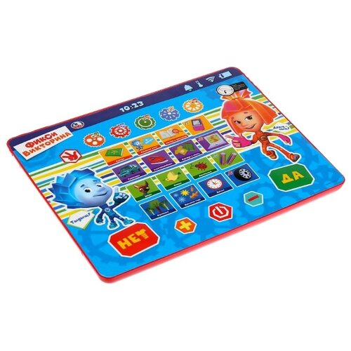 Планшет Умка Фикси викторина HX82015-R40 синий электронные игрушки умка обучающий сенсорный планшет фикси викторина