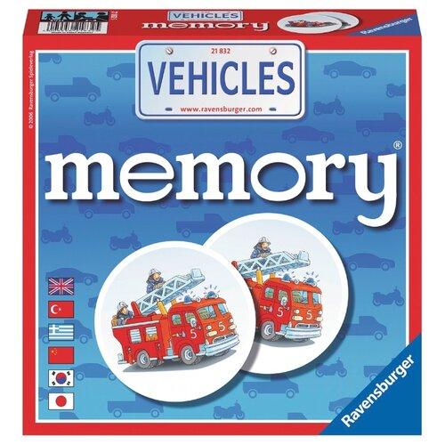 цена на Настольная игра Ravensburger Мемори Транспорт