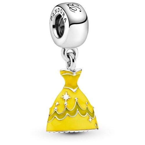 PANDORA Подвеска-шарм Платье Белль 791576ENMX фото