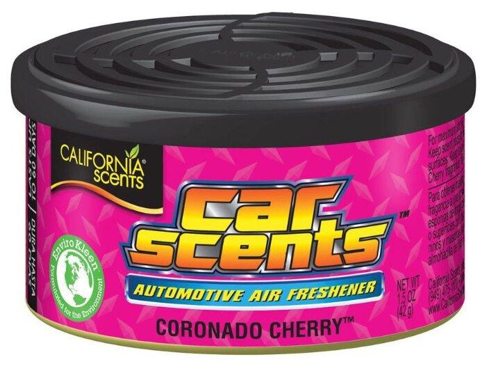California Scents Ароматизатор для автомобиля, Car Scents, Coronado Cherry 42 г