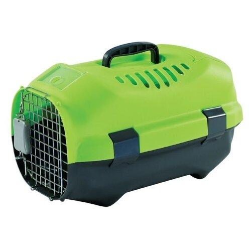 Клиппер-переноска для кошек и собак Родные места D01 47х30х29 см зеленый