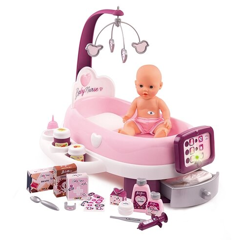 Набор с куклой Smoby Baby Nurse, 220347 smoby набор из 3 х машинок vroom planet