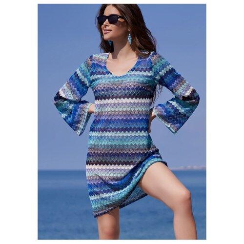 Пляжная туника MIA-AMORE Missoni размер XS голубой