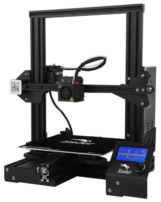 3D-принтер Creality3D Ender 3 черный фото 1