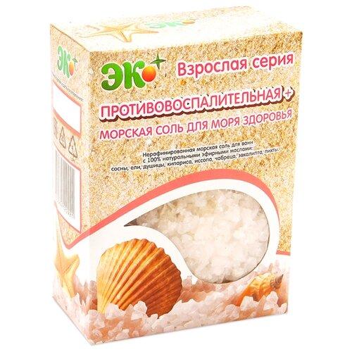 ЭКО ПЛЮС Морская соль для ванн Противовоспалительная+, 1 кг