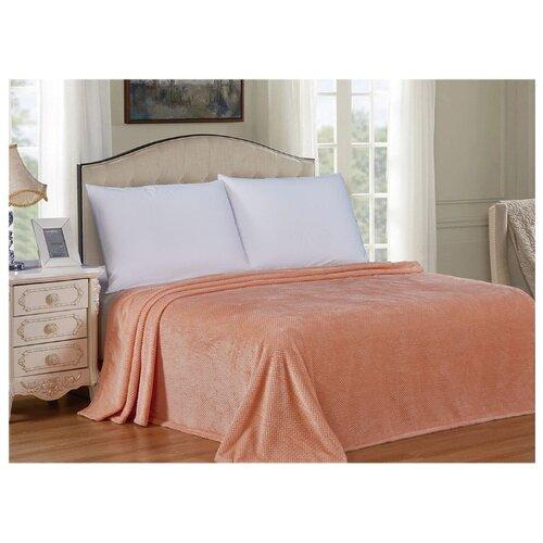 Плед Cleo Pinoli 200х220 см, оранжевый сорочка ночная cleo cleo mp002xw16zuw