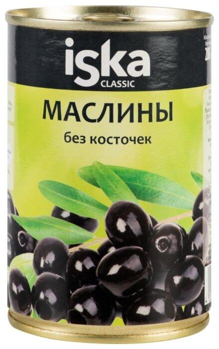 Iska Маслины без косточек Classic, жестяная банка 300 мл