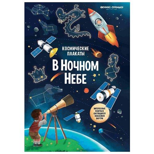 Купить Плакат Феникс-Премьер Космические плакаты. В ночном небе, Обучающие плакаты