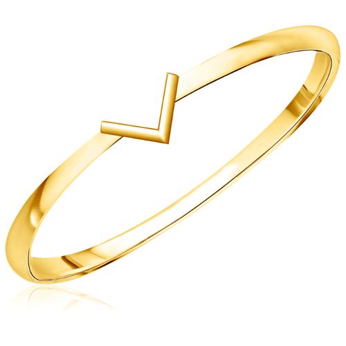 Бронницкий Ювелир Кольцо из желтого золота 55310096, размер 15
