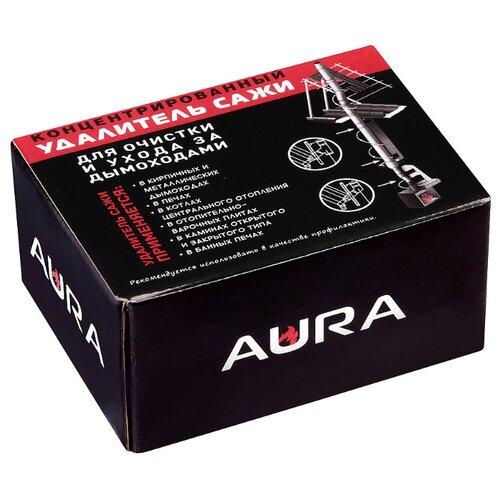 Средство для очистки дымохода от сажи AURA 400гр. (чистка дымоходов и печных труб)