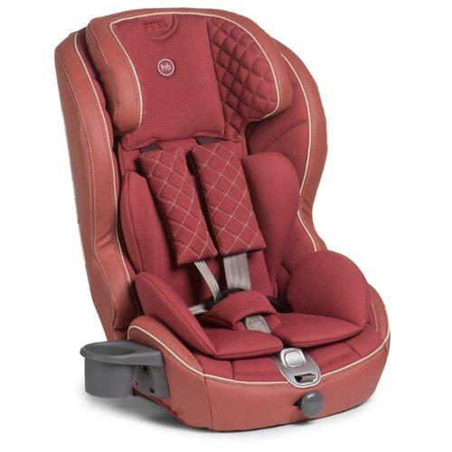 Автокресло группа 1/2/3 (9-36 кг) Happy Baby Mustang Isofix, bordo