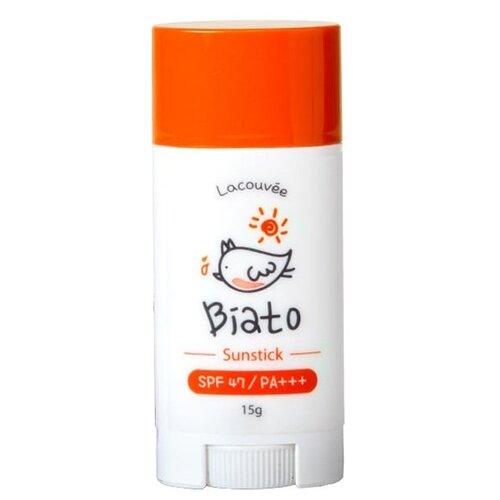 Lacouvee Biato детский солнцезащитный стик Sunstick SPF 47 15 г