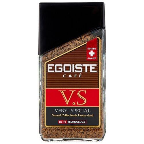 Кофе растворимый Egoiste V.S., стеклянная банка, 100 г кофе растворимый egoiste noir пакет 70 г
