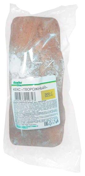 Кекс Каждый День с творогом и сахарной пудрой 300 г