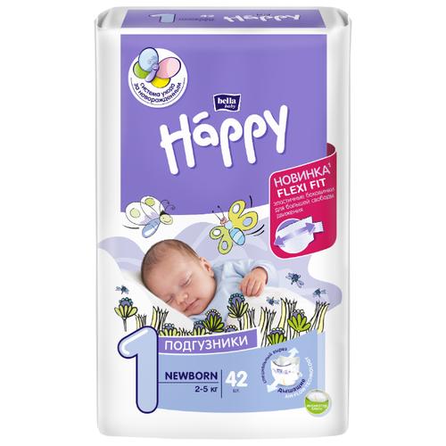 Bella Baby happy подгузники start 1 (2-5 кг) 42 шт.