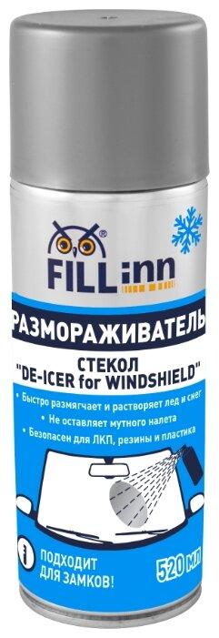 Очиститель для автостёкол FILL Inn FL091, 0.52 л