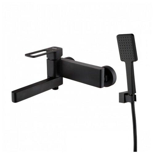 Фото - Душевой набор (гарнитур) IDDIS Slide SLIBL00i02 черный гарнитур душевой iddis sena 120мм 3 режима
