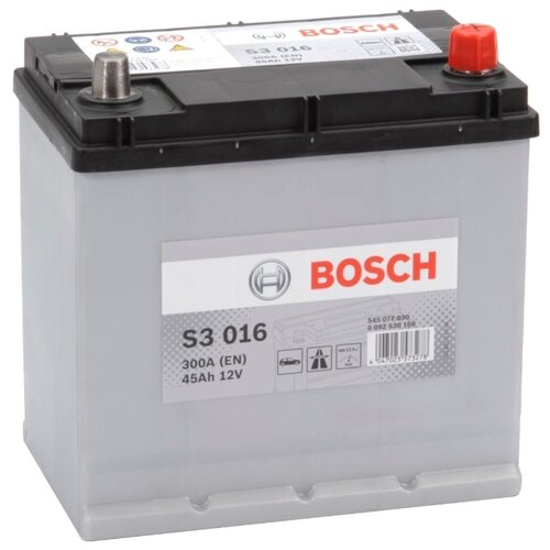 Автомобильный аккумулятор Bosch S3 016 (0 092 S30 160)