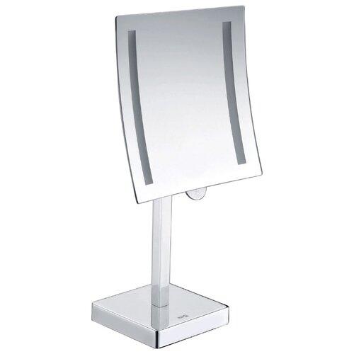 Фото - Зеркало косметическое настольное WasserKRAFT K-1007 с подсветкой хром зеркало косметическое настольное wasserkraft k 1002 хром